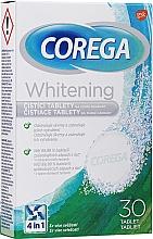 Voňavky, Parfémy, kozmetika Aktívne čistiace tablety na zubné protézy - Corega Whitening Tabs