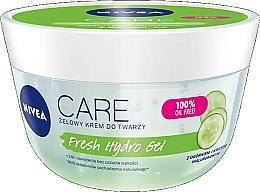 Voňavky, Parfémy, kozmetika Hyalurónový hydratačný gél na tvár, s výťažkom z uhorky - Nivea Care Fresh Hydro Gel