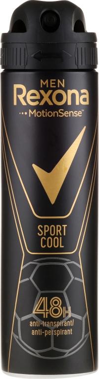 Antiperspirantový dezodorant pre mužov - Rexona Men MotionSense Sport Cool Anti-perspirant