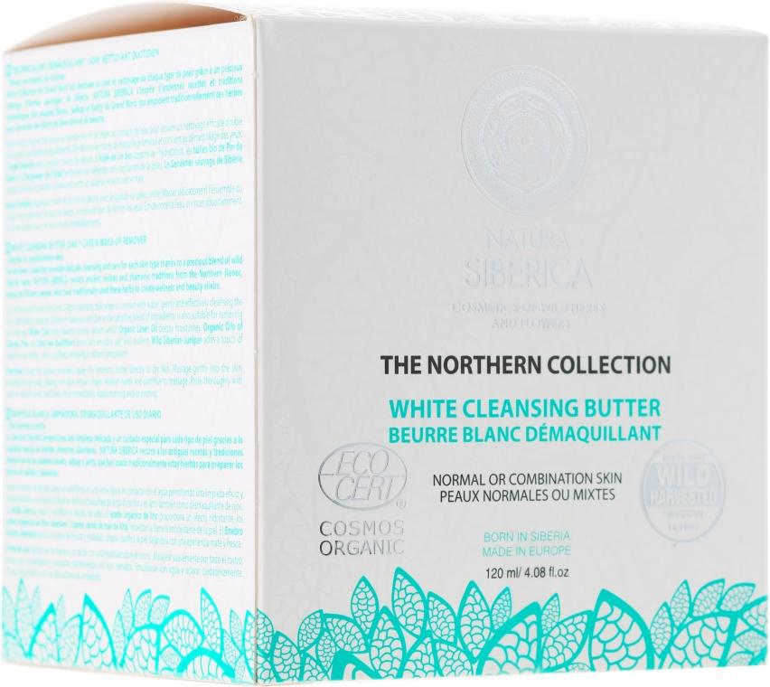 Čistiaci olej pre normálnu a kombinovanú pleť - Natura Siberica The Northern Collection White Cleansing Butter