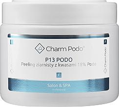 Voňavky, Parfémy, kozmetika Granulovaný peeling s kyselinami 18% pre pokožku chodidiel - Charmine Rose Charm Podo P13