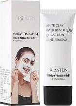 """Voňavky, Parfémy, kozmetika Maska na tvár """"Biela hlina"""" - Pilaten White Clay Mask Blackhead Extraction Acne Removal"""