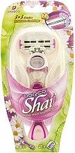 Voňavky, Parfémy, kozmetika Holiaci strojček s 2 vymeniteľnými kazetmi - Dorco Shai 3+3