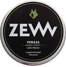 Voňavky, Parfémy, kozmetika Modelovacia pomáda na vodnej báze s aktívnym uhlím - ZEW Pomade For Men