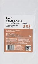 """Voňavky, Parfémy, kozmetika Maska na tvár """"Sila olejov"""" - Lynia Power Of Oil Peel Off Powder Mask"""
