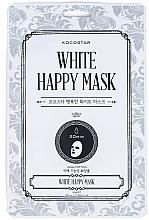Voňavky, Parfémy, kozmetika Látková maska na tvár - Kocostar White Happy Mask