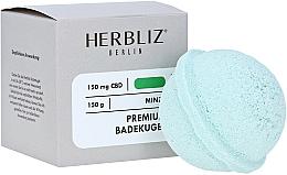 """Voňavky, Parfémy, kozmetika Šumivá bomba do kúpeľa """"Mäta"""" - Herbliz CBD"""
