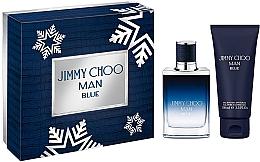 Voňavky, Parfémy, kozmetika Jimmy Choo Man Blue - Sada (edt/50ml + sh/gel100ml)