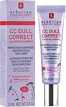 Voňavky, Parfémy, kozmetika Korekčný krém na tvár - Erborian CC Dull Correct SPF 25