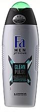 Voňavky, Parfémy, kozmetika Sprchový gél - Fa Men Xtreme Clean Pulse Shower Gel 3in1