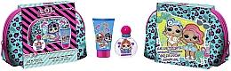Voňavky, Parfémy, kozmetika Air-Val International LOL Surprise XTL - Sada (edt/50ml + sh/gel/100ml + bag)