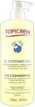 Voňavky, Parfémy, kozmetika Čistiaci gél 2v1 na telo - Topicrem Soins Bebe Bio Gel Nettoyant
