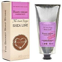 """Voňavky, Parfémy, kozmetika Krém na ruky """"Marakuja"""" - The Secret Soap Store Shea Line Hand Cream Passion Fruit"""