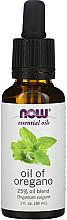 """Voňavky, Parfémy, kozmetika Esenciálny olej """"25% Zmes olejov. Oregano"""" - Now Foods Essential Oils Oil of Oregano Blend"""