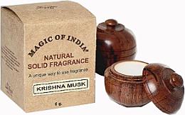 """Voňavky, Parfémy, kozmetika Prírodný parfumovaný krém """"Krishna Musk"""" - Shamasa"""