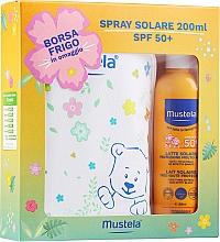 Voňavky, Parfémy, kozmetika Sada - Mustela Bebe Solare (sun/spray/200ml + bag)