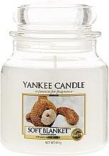 Voňavky, Parfémy, kozmetika Sviečka v sklenenej nádobe - Yankee Candle Soft Blanket