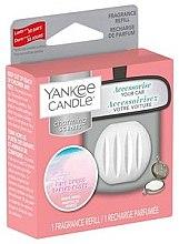 Voňavky, Parfémy, kozmetika Arómatizator automobilový (vymeniteľná jednotka) - Yankee Candle Pink Sands