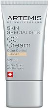 Voňavky, Parfémy, kozmetika CC krém - Artemis of Switzerland Skin Specialists CC Cream