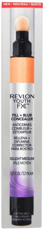 Korektor pre tvár - Revlon Youth FX Fill+Blur Concealer — Obrázky N1