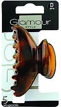 Voňavky, Parfémy, kozmetika Štipec do vlasov, 0216, hnedý - Glamour