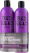 Voňavky, Parfémy, kozmetika Sada - Tigi Bed Head Dumb Blonde (shm/750ml + cond/750ml)