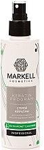 """Voňavky, Parfémy, kozmetika Sprej na vlasy """"Intenzívna obnova"""" - Markell Cosmetics Keratin Program"""