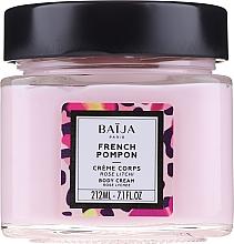 """Krém na telo """"Ruža a liči"""" - Baija French Pompon Rose Litchi Body Cream — Obrázky N3"""