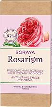 Krém na viečka proti vráskam - Soraya Rosarium Rose Anti-wrinkle Eye Cream — Obrázky N2