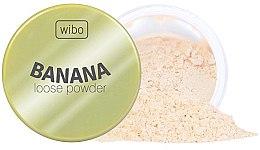 Voňavky, Parfémy, kozmetika Banánový púder na tvár - Wibo Banana Loose Powder