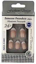 """Voňavky, Parfémy, kozmetika Falošné nechty """"Francúzska manikúra"""", 77951 - Top Choice Fashion Design"""