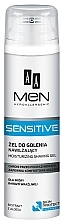 Voňavky, Parfémy, kozmetika Gél na holenie - AA Men Sensitive Moisturizing Shaving Gel