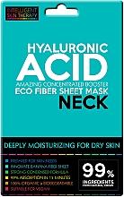 Voňavky, Parfémy, kozmetika Expresná maska na krk - Beauty Face IST Extremely Moisturizing Booster Neck Mask Hyaluronic Acid