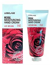 Voňavky, Parfémy, kozmetika Krém na ruky s ružovým extraktom - Lebelage Rose Moisturizing Hand Cream