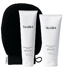 Voňavky, Parfémy, kozmetika Sada - Medik8 Smooth Body Exfoliating Kit (scr/150ml+lot/200ml+glove)