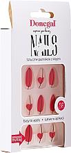Voňavky, Parfémy, kozmetika Sada umelých nechtov s lepidlom, 3067 - Donegal Express Your Beauty