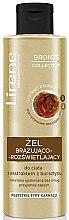 Voňavky, Parfémy, kozmetika Bronzujúci gél na telo s jantárovým extraktom - Lirene Bronze Collection