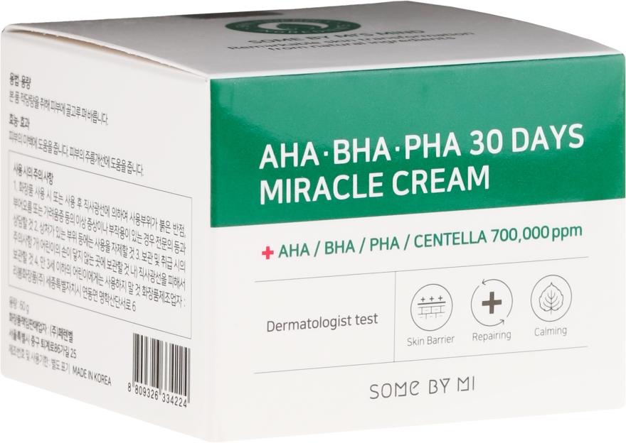 Krém na tvár - Some By Mi AHA/BHA/PHA 30 Days Miracle Cream