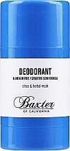 Voňavky, Parfémy, kozmetika Dezodorant - Baxter of California Deo Citrus Herbal