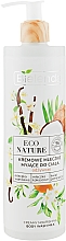 Voňavky, Parfémy, kozmetika Krémové sprchové mlieko - Bielenda Eco Nature Creamy Body Wash Milk Vanilla Coconut Milk Orange Blossom