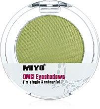 Voňavky, Parfémy, kozmetika Jednofarebné očné tiene na viečka - Miyo Omg Eyeshadows