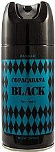 Voňavky, Parfémy, kozmetika Jean Marc Copacabana Black For Men - Deodorant