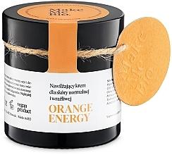 Voňavky, Parfémy, kozmetika Hydratačný krém pre normálnu a citlivú pokožku - Make Me BIO Orange Energy