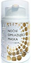 Voňavky, Parfémy, kozmetika Maska na tvár, nočná - Le Chaton Night Rejuvenating Face Mask Platine M
