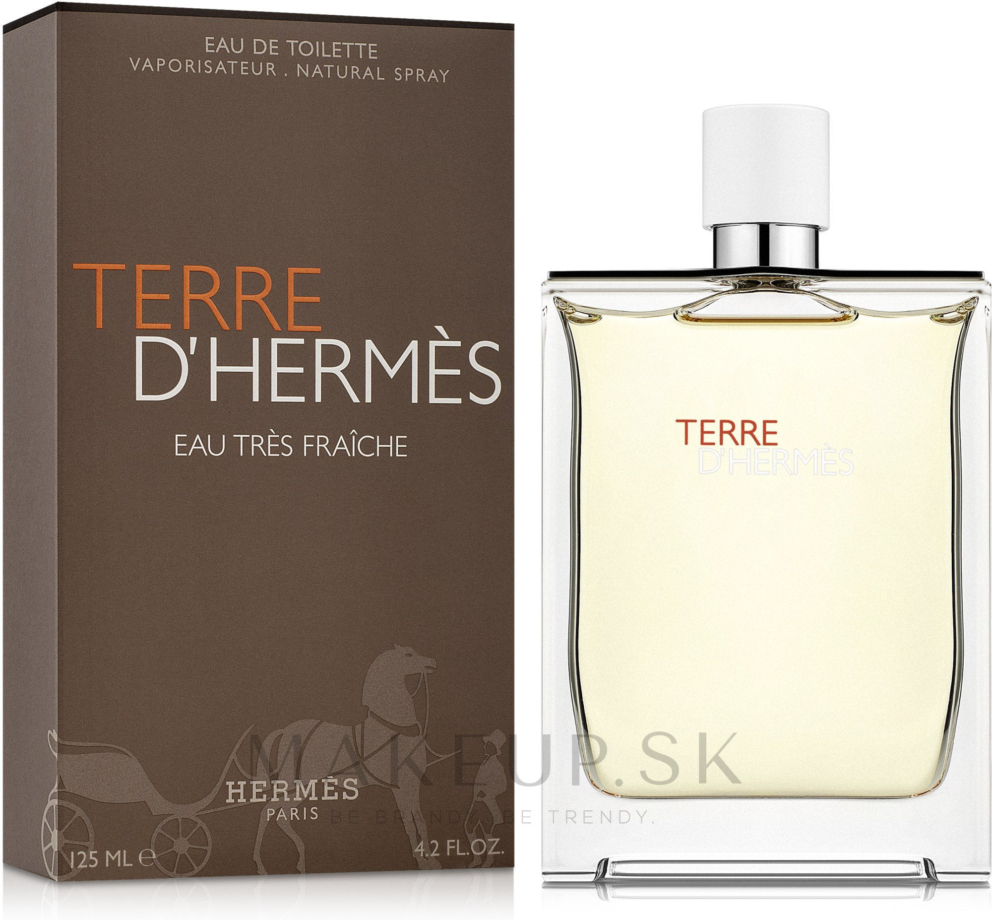 Hermes Terre d'Hermes Eau Tres Fraiche - Toaletná voda — Obrázky 125 ml