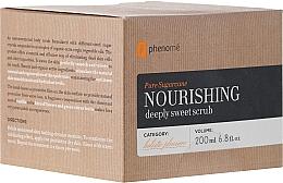 Voňavky, Parfémy, kozmetika Telový peeling - Phenome Pure Sugarcane Nourishing Deeply Sweet Scrub