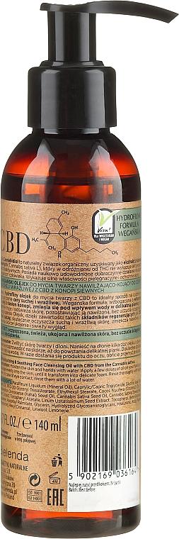 Olej na umývanie tváre - Bielenda CBD Cannabidiol Oil — Obrázky N2