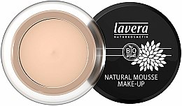 Tonálna pena na tvár - Lavera Natural Mousse Make Up Cream Foundation — Obrázky N1