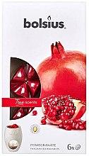 """Voňavky, Parfémy, kozmetika Vonný vosk """"Granátové jablko"""" - Bolsius True Scents Pomegranate"""