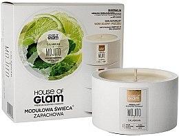 Voňavky, Parfémy, kozmetika Vonná sviečka - House of Glam Calabrian Mojito Candle